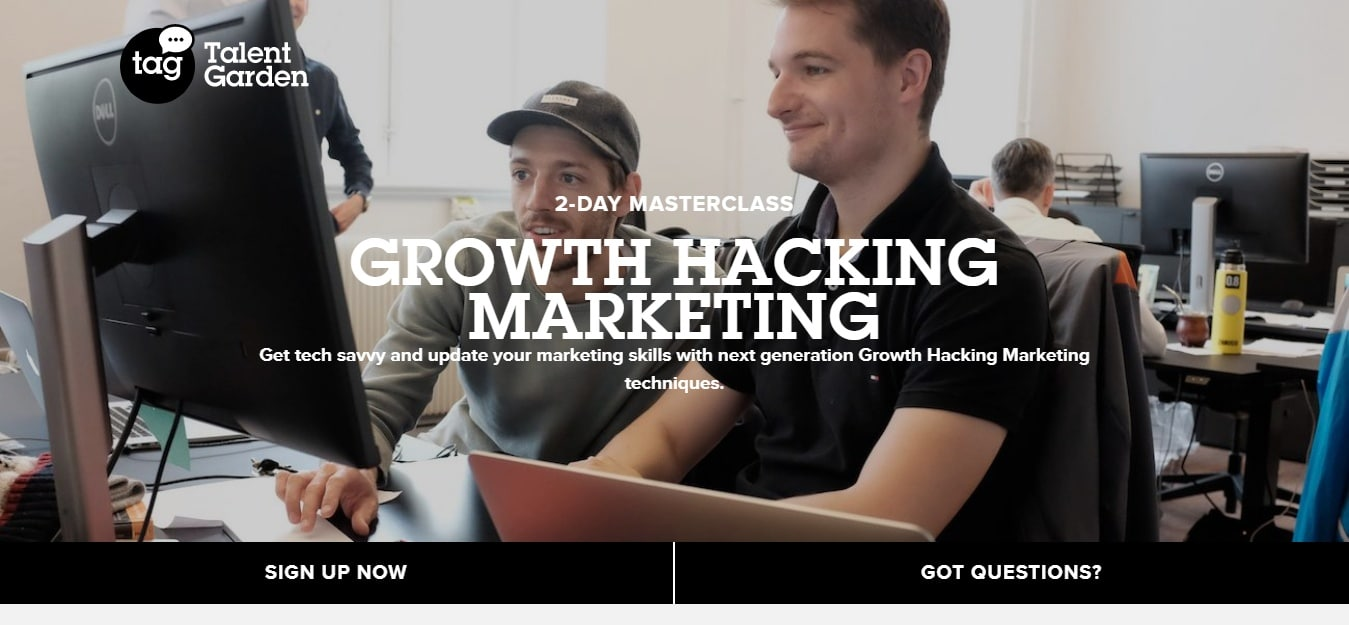 growthhacking masterclass